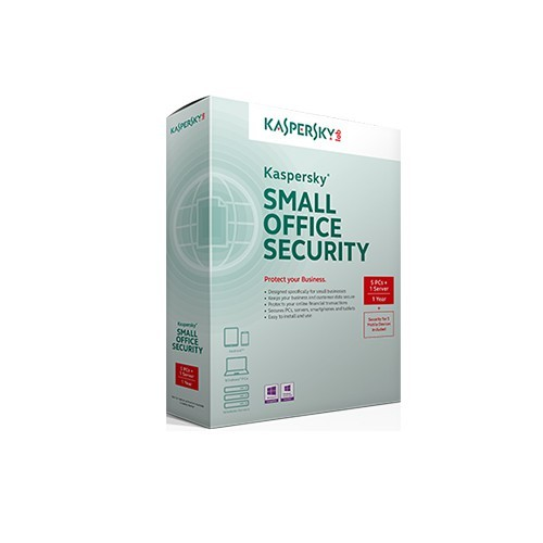 Kaspersky Small Office Security 3 for personal computers and mobiles