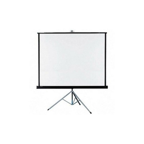 "ScreenPro 90""x90"",Fiber glass,w/Tripod"